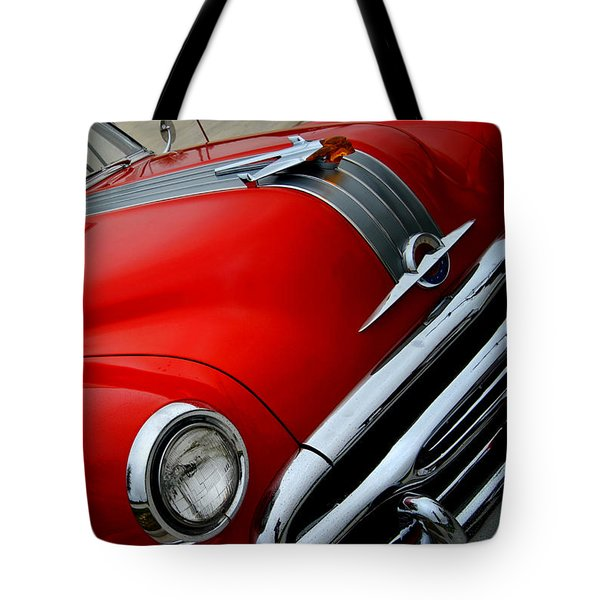 Pontiac Chieftain 1954 Front Tote Bag
