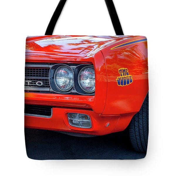 Pontiac G T O Judge 1969 Convertible Tote Bag