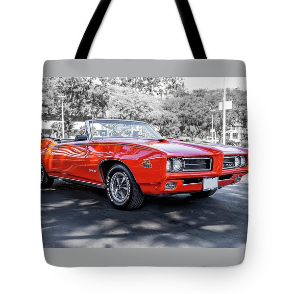 Pontiac G T O Judge Tote Bag