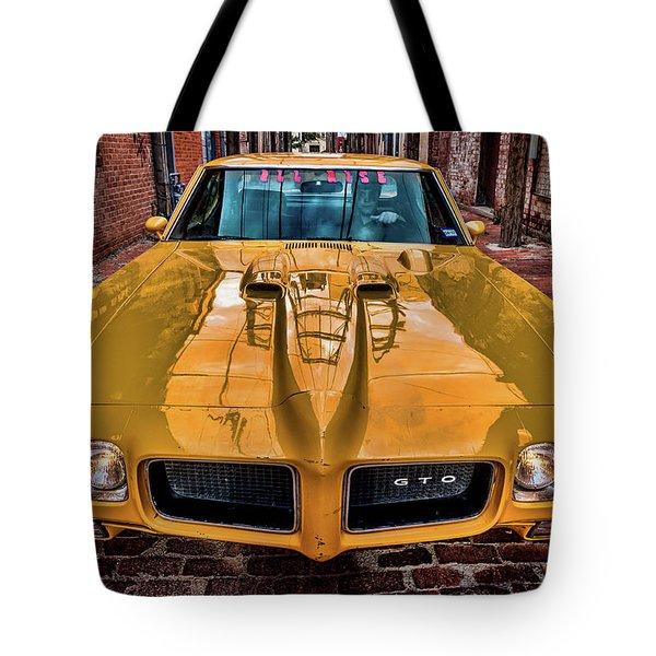 Pontiac Gto - The Judge Tote Bag