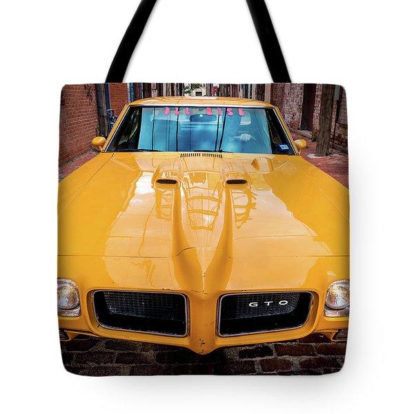 Pontiac Muscle Tote Bag