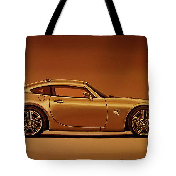 Pontiac Solstice Coupe 2009 Painting Tote Bag