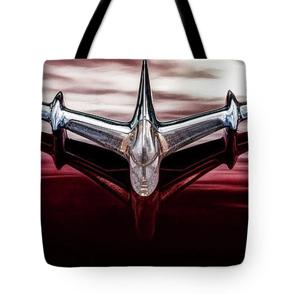 Tote Bag featuring the photograph Pontiac Star Chief by Brad Allen Fine Art