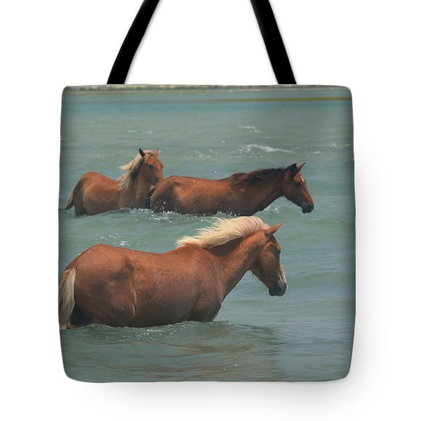 Pony Crossing.... Tote Bag