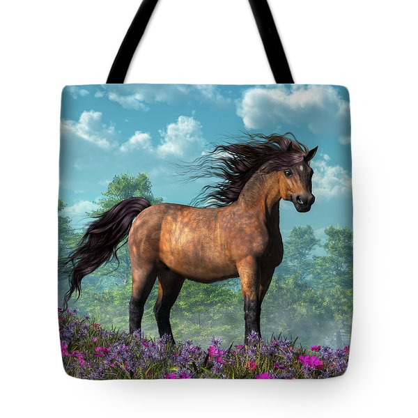 Pony Tote Bag by Daniel Eskridge