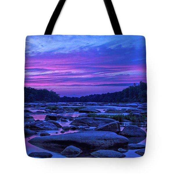 Pony Pasture Sunset Tote Bag