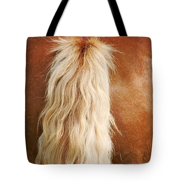 Pony Tail Tote Bag