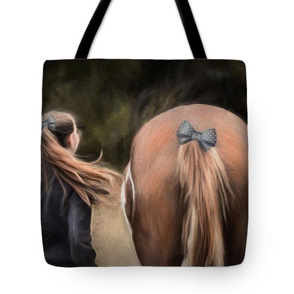 Ponytails Forever Tote Bag