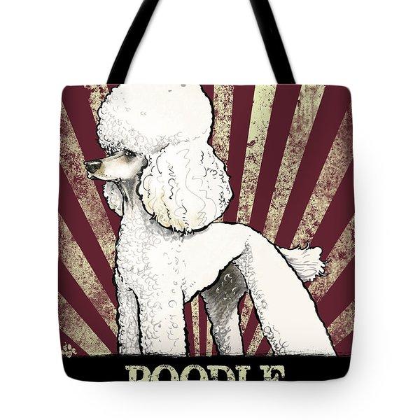 Poodle Revolution Tote Bag