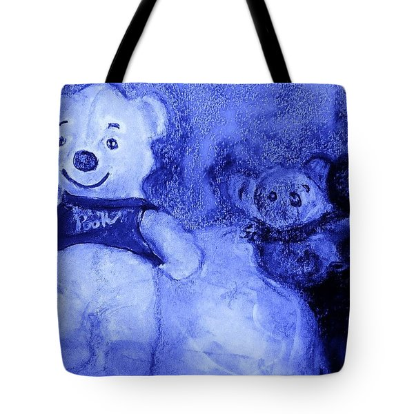 Pooh Bear And Friends Tote Bag by Denise Fulmer