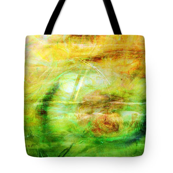 Pooh Sticks Tote Bag by Valerie Anne Kelly