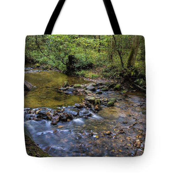 Tote Bag featuring the photograph Pool At Cooper Creek by Barbara Bowen