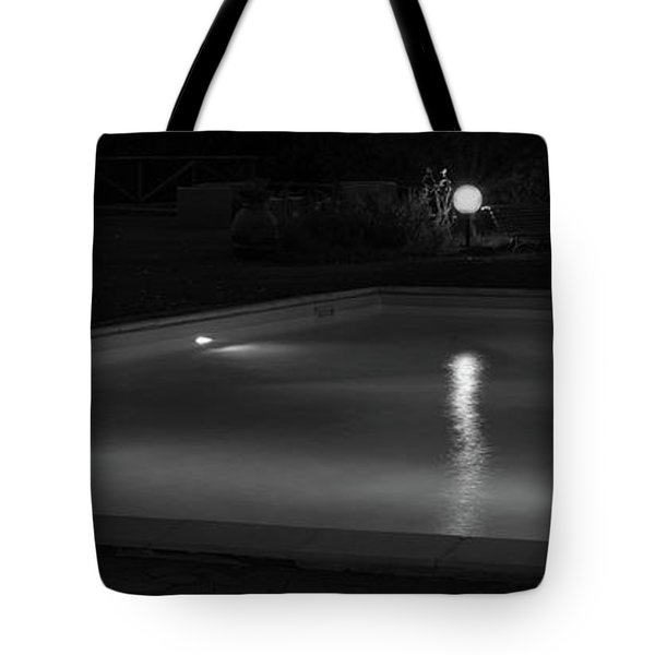 Pool At Night 2 Tote Bag