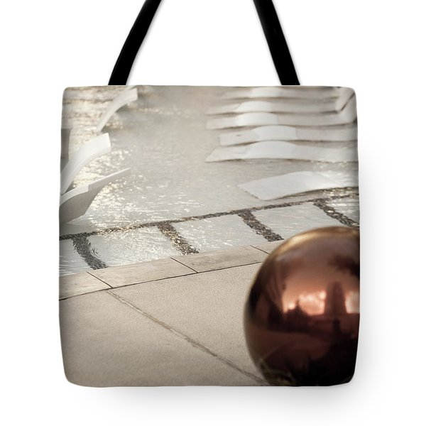 Pool Ball Tote Bag