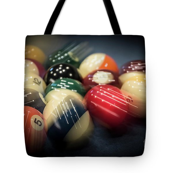 Pool Break Motion - Lower Angle Tote Bag