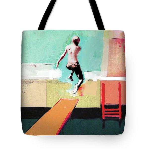 Pool Day Tote Bag
