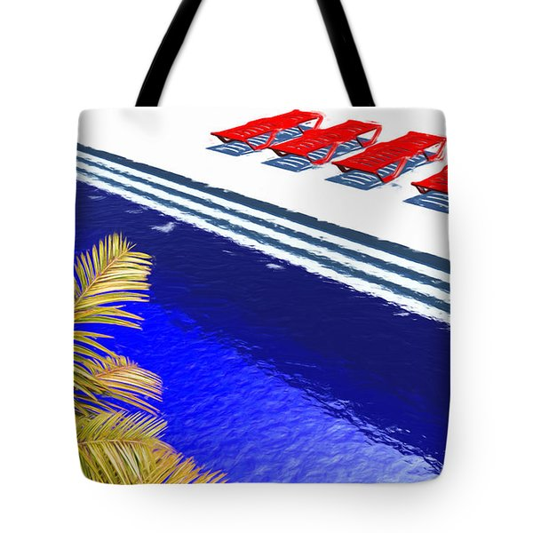 Pool Deck Tote Bag