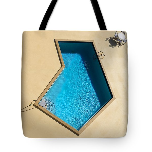 Pool Modern Tote Bag by Laura Fasulo