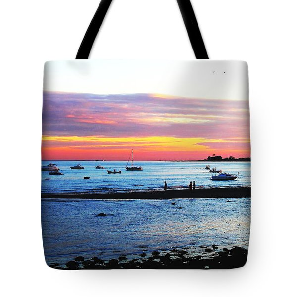 Tote Bag featuring the photograph Pool Party by Jesse Ciazza