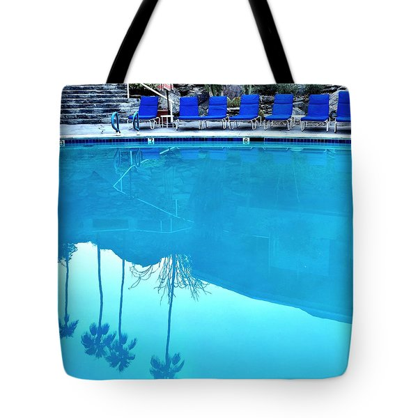 Pool Reflection Tote Bag