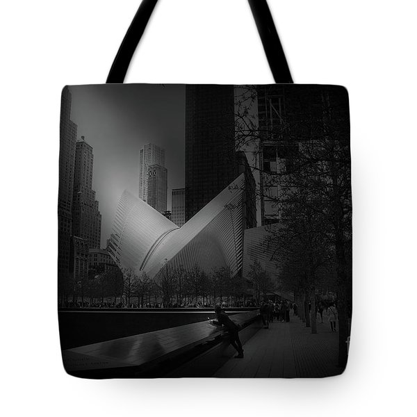 Pool Station, Bw Tote Bag