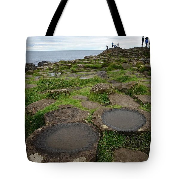 Pools On The Giant's Causeway Tote Bag