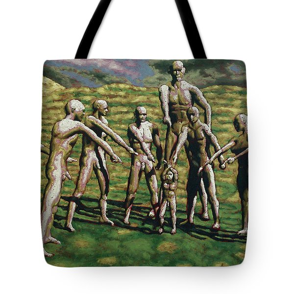 Poor Judgement Tote Bag by Leo Mazzeo