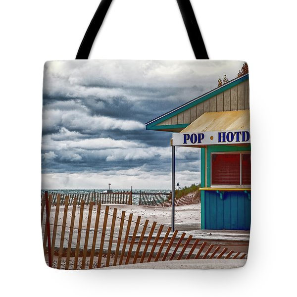 Pop And Hotdogs Tote Bag