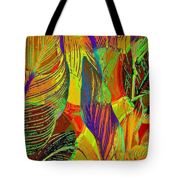 Pop Art Cannas Tote Bag