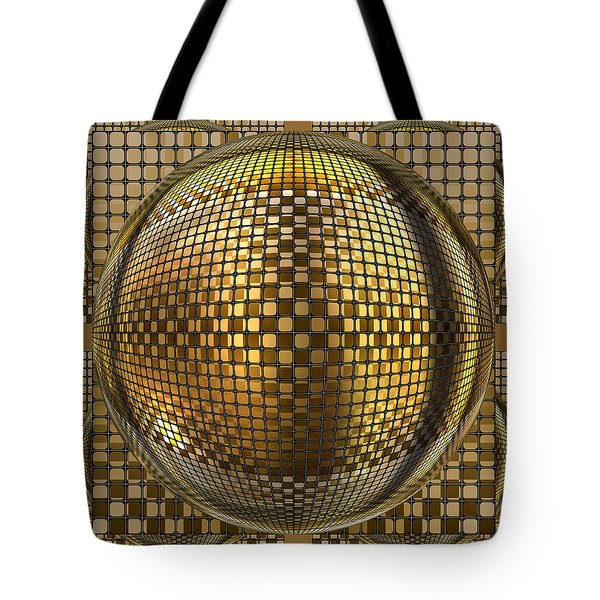 Pop Art Circles Tote Bag