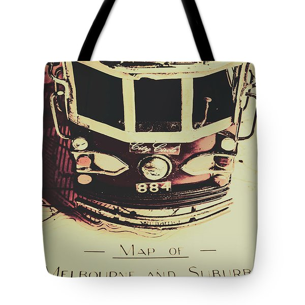 Pop Art City Tours Tote Bag