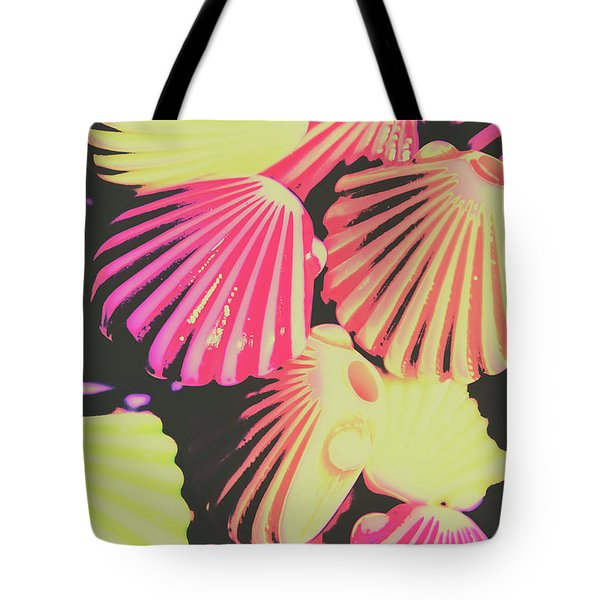 Pop Art From Fluorescent Beach Tote Bag