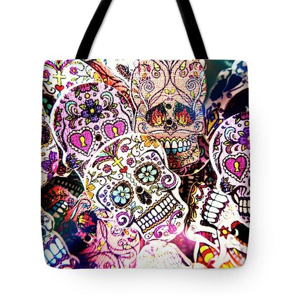 Pop Art Horrors Tote Bag