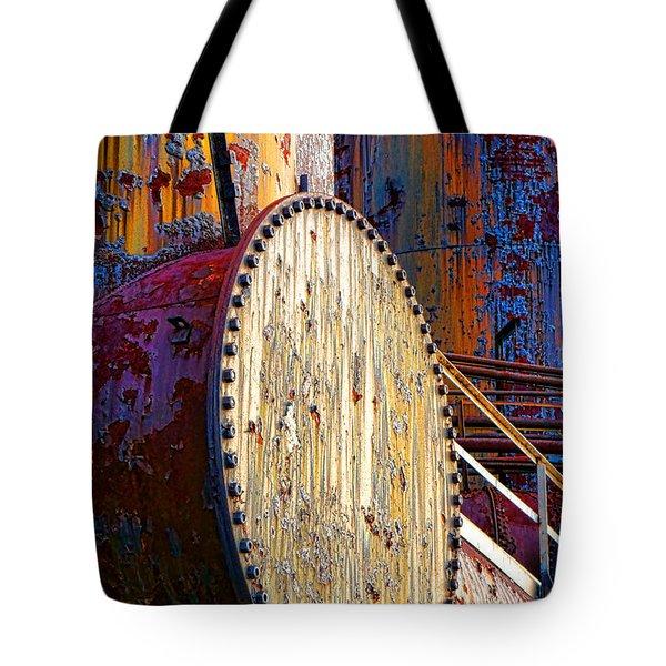 Pop Art Industrial  Tote Bag