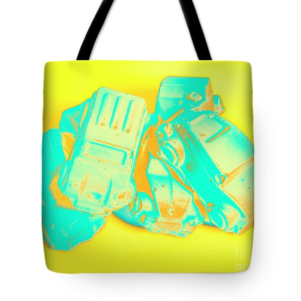 Pop Art Pileup Tote Bag