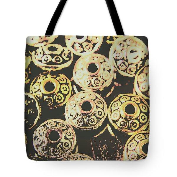 Pop Art Space Invaders Tote Bag