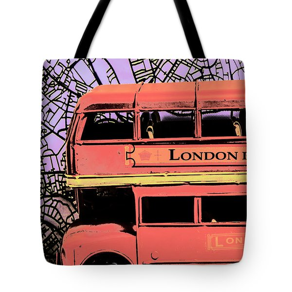 Pop Art Uk Tote Bag
