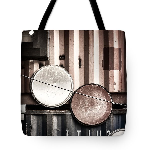 Tote Bag featuring the photograph Pop Brixton - Industrial Style by Lenny Carter