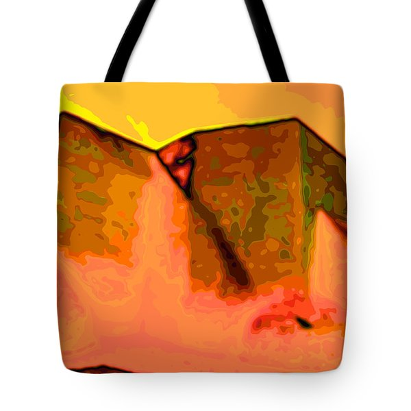 Pop  Tote Bag by Charles Muhle