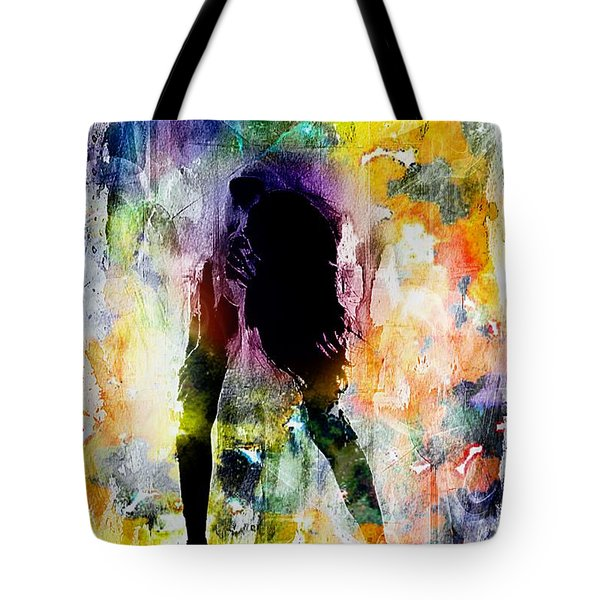 Pop Dance Tote Bag