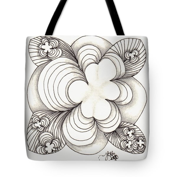 Popcloud Blossom Tote Bag by Jan Steinle