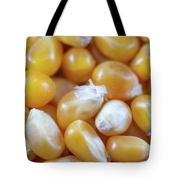 Popcorn Kernels Tote Bag