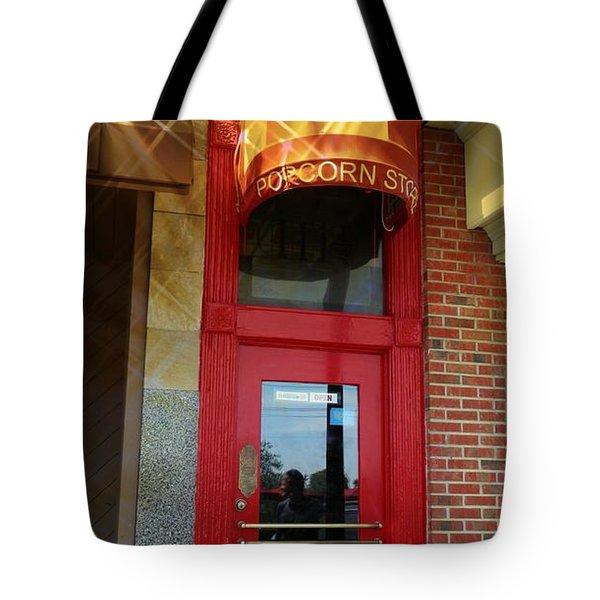 Popcorn Shoppe Tote Bag