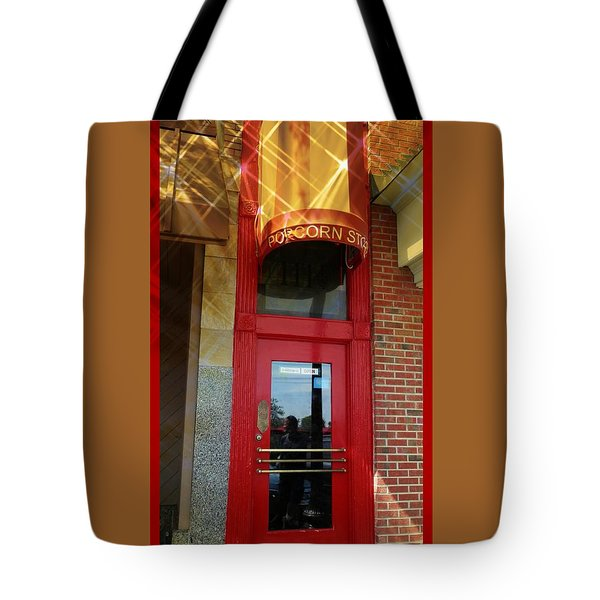 Popcorn Shoppe Tote Bag