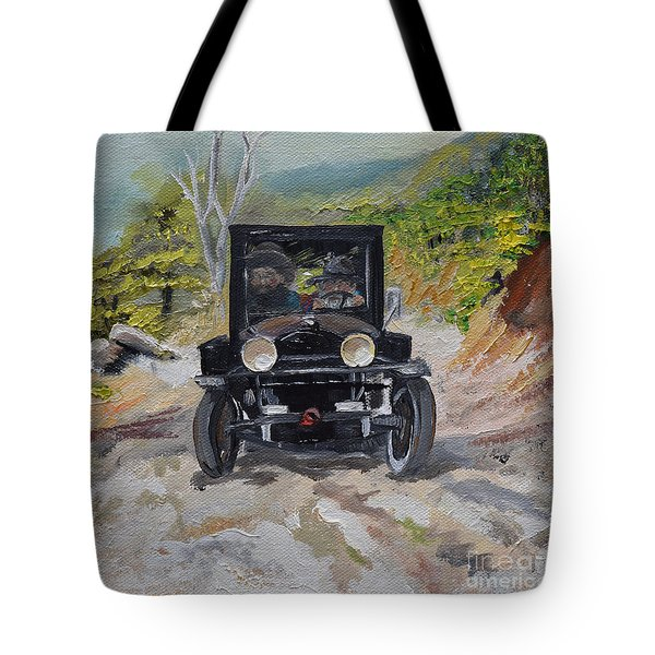 Popcorn Sutton - Looking For Likker Tote Bag by Jan Dappen