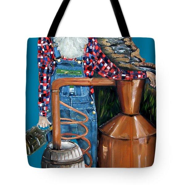 Popcorn Sutton Moonshiner -t-shirt Transparrent Tote Bag