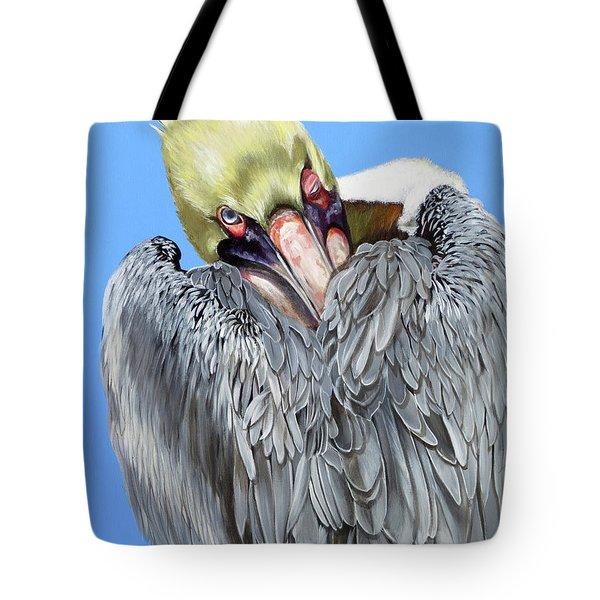 Popeye The Pelican Tote Bag