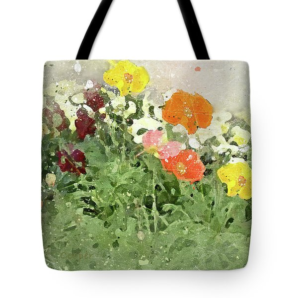 Poppies 2-f Tote Bag