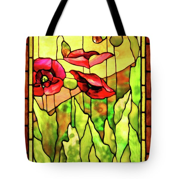 Tote Bag featuring the photograph Poppies 2 by Kristin Elmquist