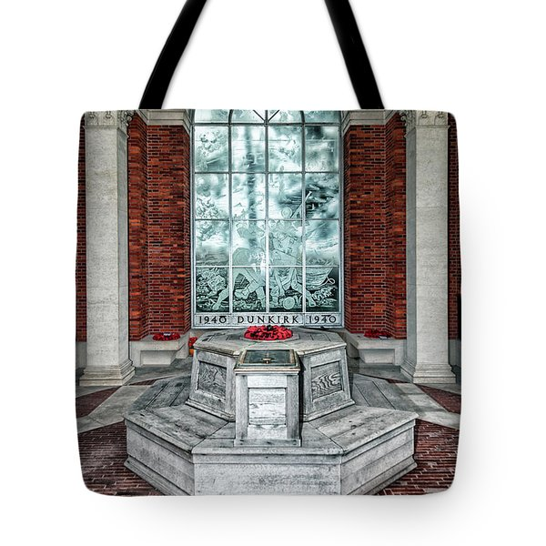 Poppies At Dunkirk Tote Bag